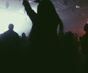 girl, grunge, and concert image