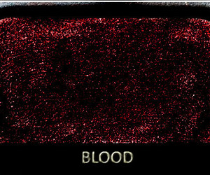 blood, red, and makeup image