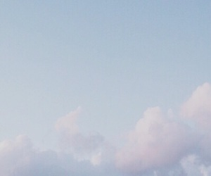 blue, pastel, and sky image