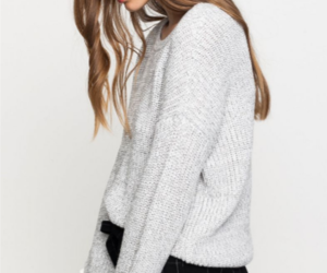 outfit, pullover, and fashion image