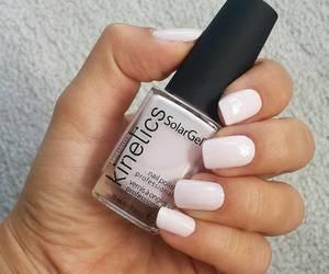 Blanc, nail polish, and nails image