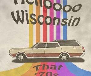 that 70s show, wisconsin, and 70s image