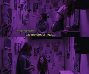 amigas, best friend, and frases image