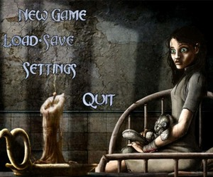alice in wonderland, insane asylum, and american mcgee's alice image