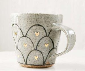 mug and heart image