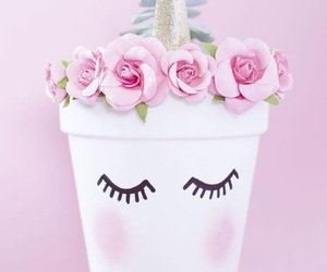 believe, flowers, and lashes image