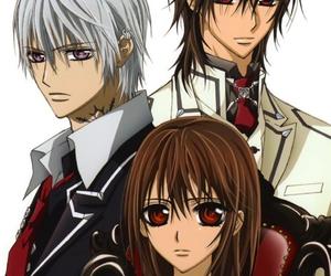 anime, vampire knight, and boy image