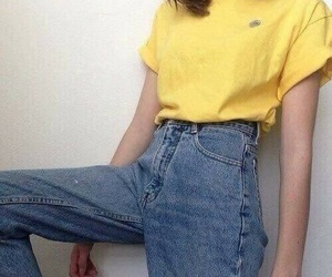 amarillo and jeans image
