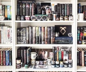 aesthetic, books, and nerd image
