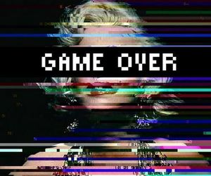 game over, game, and Marilyn Monroe image