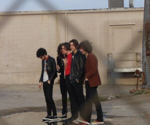 the strokes, albert, and Jules image