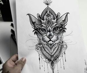 tattoo and sketch image