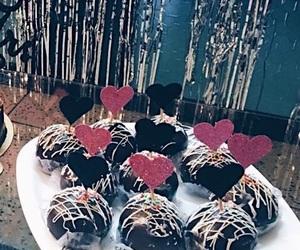 amazing, dessert, and hearts image