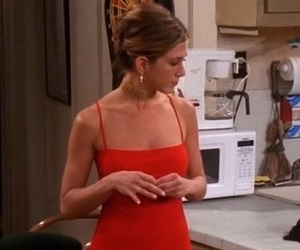 fashion, girl, and rachel green image