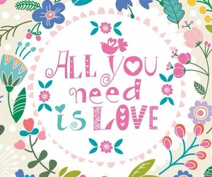 wallpaper, all you need is love, and background image