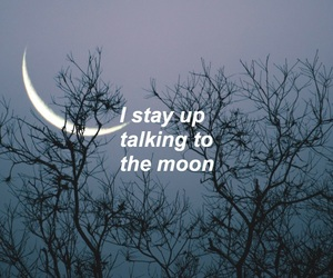 aesthetic, edit, and moon image