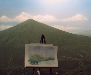 nature, art, and mountains image