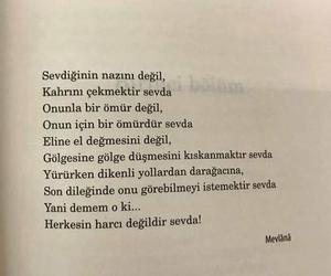 mevlana, alıntı, and türkçe sözler image