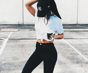 clothes, fashion, and skinny image