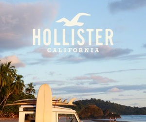 california, hollister, and surf image
