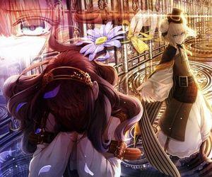 anime, finis, and otome game image