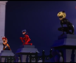 ladybug, miraculous, and chatnoir image