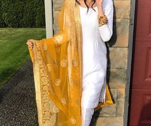 girls, suits, and punjabi suits image