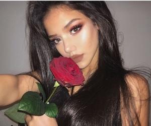 rose and makeup image