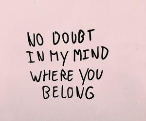 Lyrics, mine, and quote image