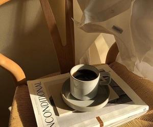 coffee, magazine, and room image