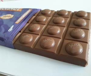 toffee, chocolate, and milka image