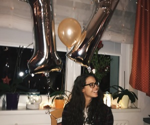 17, balloons, and birthday image