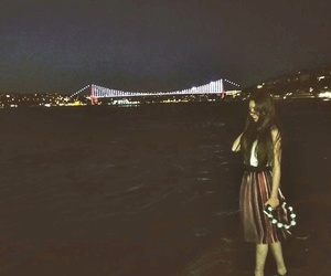 bridge, night, and turkey image