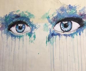 art, eyes, and Greece image