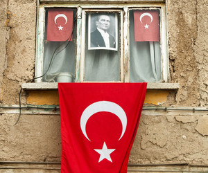 flag, leader, and turk image