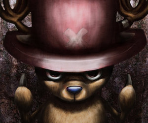 fanart, one piece, and chopper image