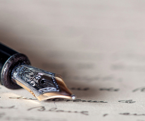 pen, writing, and words image
