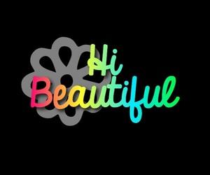 beautiful, hi, and wallpaper image