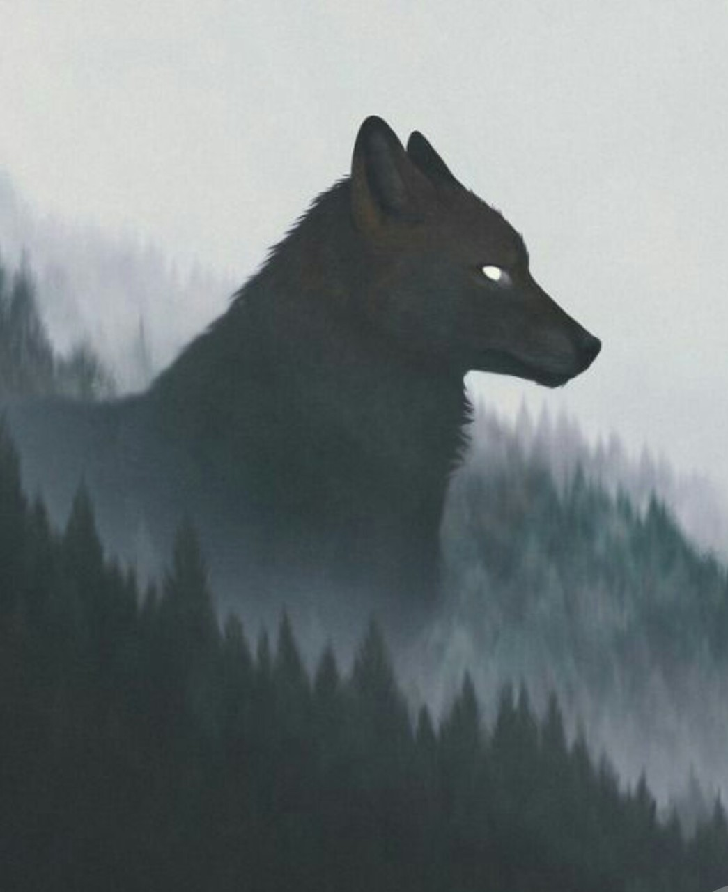 the wolves Wallpaper on We Heart It