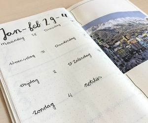 journal, moleskine, and writing image