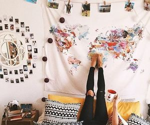 room, room decor, and travel image
