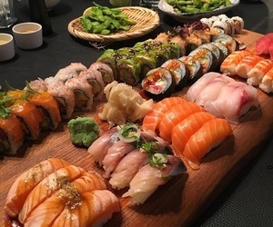 aesthetic, sushi, and food image