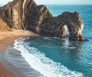 beach, travel, and ocean image