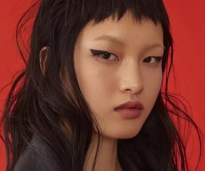 alternative, asian girl, and face image
