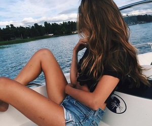 girl, hair, and summer image