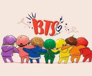1000 Images Bangtan Boys Fanart Chibi Anime Heart Bts Image
