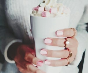 accessories, marshmallows, and pink image