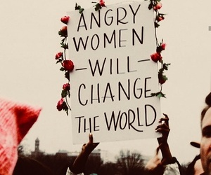 woman, feminism, and world image