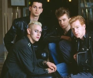 band, 80's, and depeche mode image