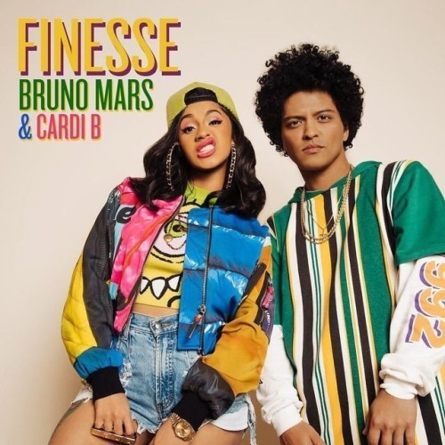 finesse, bruno mars, and cardi b image
